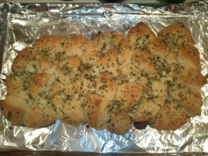 Blue Cheese Herb Bread