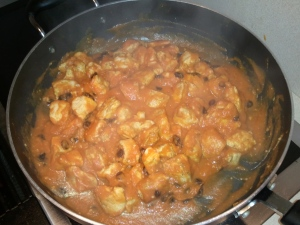 Pumpkin Curry Chicken