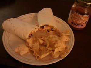Turkey Curry Wrap