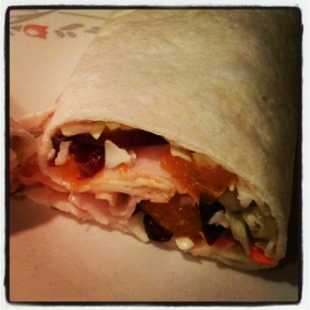 Turkey Curry Wrap