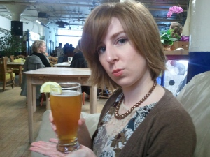Me at the Brewery