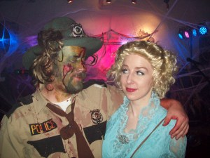 I bet the real Dolly Parton never had to deal with zombies.