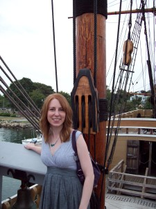 Aboard the Mayflower II