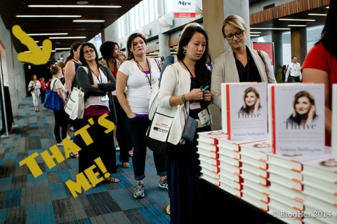 BlogHer book signing