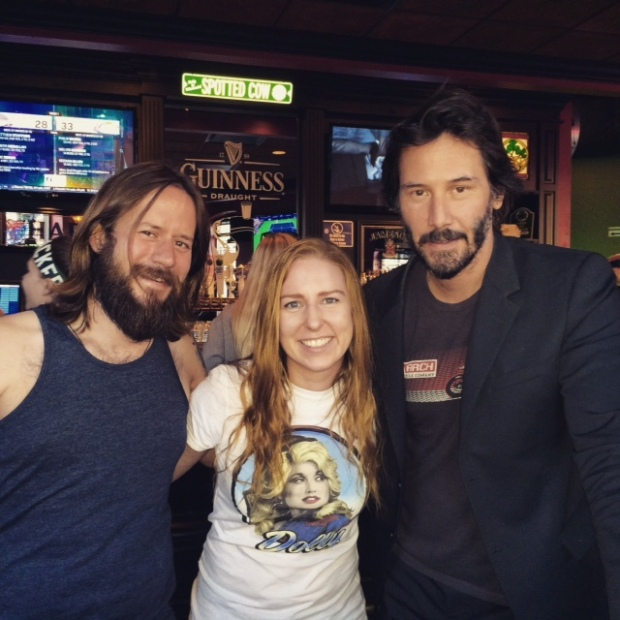 Jess Witkins Meets Keanu Reeves