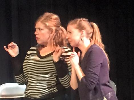 improv judging faces