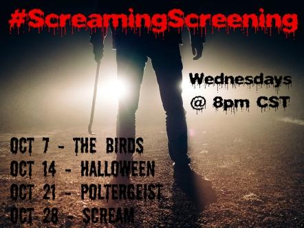 #ScreamingScreening