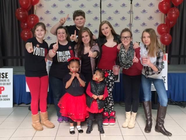 VDay dance team